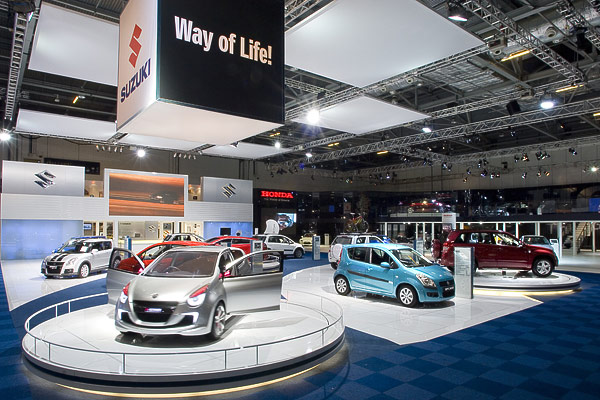 Suzuki at The British Motor Show